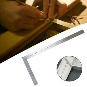 Steel L Square Angle Ruler 90 Degree Ruler for Woodworking Carpenter Tool 1 P C C $6.19