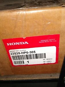 Honda Weight Set Clutch 22535 HP0 305 SKU # 4