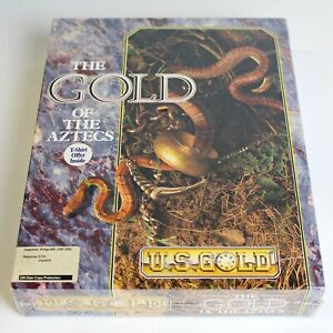 Gold of the Aztecs Commodore Amiga 1991 Factory Sealed Free Shipping $39.99