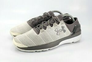 Under Armour UA Speedform Apollo 2 Running Shoes Mens Size 9.5 1266205 100 Gray $34.99