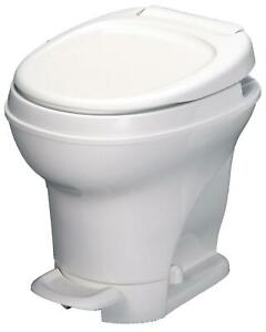 Aqua Magic V RV Toilet Pedal Flush High Profile White 31671