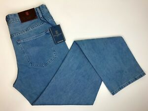 Fonz Ferroni Jeans Blue Jeans The Best Jeans Brown Leather Patch Red Tn Size 33