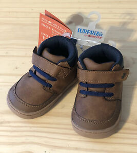 Stride Rite Surprize BRANLY Brown Boot Baby Toddler Shoes Size 3 NEW $15.00