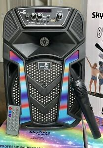 "Portable Bluetooth speaker 8""1 Twitter 5000 Watts P.M.P.O Remote Mic Super Bass $54.99"