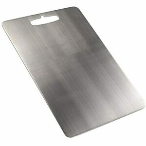 Fiaze 18 10 Stainless Steel Kitchen Cutting Board Set Of 1 amp Dining