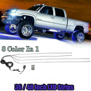 RGB LED 36quot; 48quot; LIGHT CAR TRUCK UNDERBODY UNDER GLOW NEON TUBE SYSTEM 8 COLOR $23.99