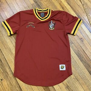 Harry Potter Gryffindor Mens Quidditch Jersey Shirt Athletic Red Size Small $20.00