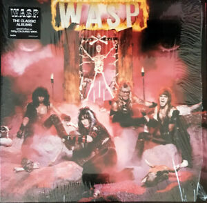 WASP s t WASP First Album on LP HEAVY METAL COLORED VINYL NEW W.A.S.P. RECORD $29.99