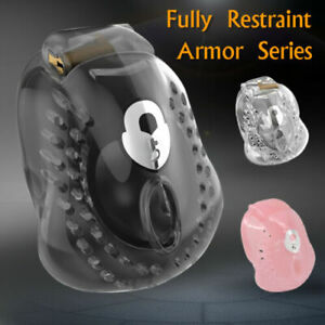 USA SHIP Full Egg Locker Armor Male Chastity Cage Device Comes in 3 Colors $29.95