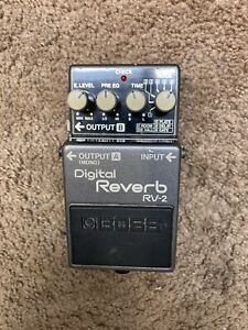 Boss RV 2 Digital Reverb