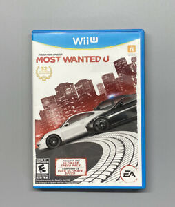 Need for Speed: Most Wanted U Nintendo Wii U 2013 Complete Tested $19.99