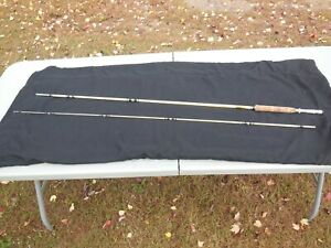 SUPER CLEAN SHAKESPEARE 8#x27;0quot; WONDEROD HOWALD PROCESS FLY FISHING ROD MODEL 1439
