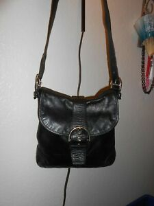 used black coach purse excellent condition med. size crossbody style