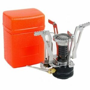 Mini Camping Stoves Folding Outdoor Gas Stove Portable Furnace Cooking Picnic