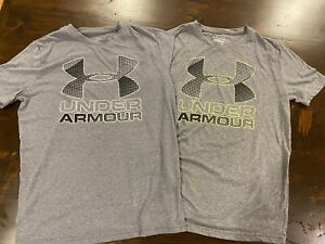 Boys Under Armor Tees Size Large $12.00