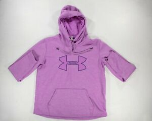 Womens Pink Under Armour Hoodie Medium $11.99