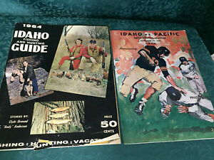 Vintage Idaho Fishing and Hunting Guide 1964 1963 U of ID Pacific Program