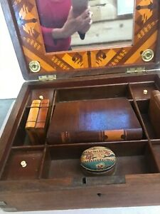antique sewing box $350.00