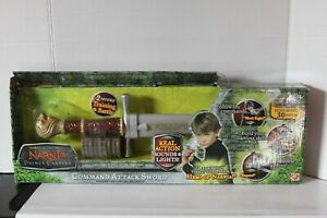 CHRONICLES OF NARNIA PRINCE CASPIAN COMMAND ATTACK SWORD $70.00
