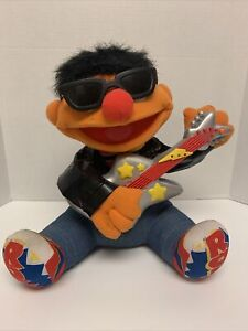 Vintage 1998 Tyco Rock N Roll Ernie Sesame Street Tested Works