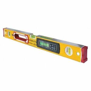 Stabila 36524 Electronic Level24 In.LYellow $260.00