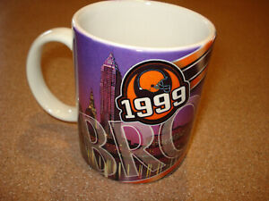 Vintage 1999 CLEVELAND BROWNS SUPER BOWL Coffee Mug Cup MINT BRAND NEW $4.99