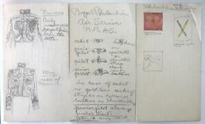 WALT KUHN ORIGINAL DRAWINGS ON CARDS FOR FANTASY COUNTRY RHUBARBARIA 1927 $85.00