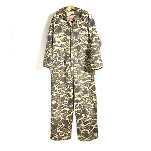 Vintage Winchester Hunting Insulated Coveralls Talon Zipper