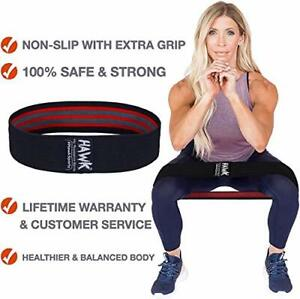 Hawk Sports Resistance Bands for Women Men Fabric Exercise Bands Booty Bands $2.88