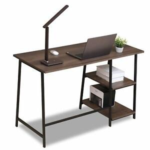 Bookcase 3 Shelf Bookshelf Furniture Wood Storage Shelving Book w Drawer $115.99