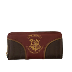 Gryffindor House Hogwarts Team Quidditch Red and Black Multicolor Leather Wallet $19.99