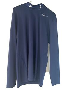 Nike Fit Dri MLB Mock Turtleneck. Detroit Tigers. Large. Preowned. $22.50