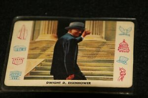 Cardo Trading Cards PRESIDENTS quot;Dwight D. Eisenhowerquot; #W 34 in series