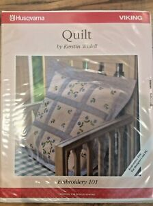 HUSQVARNA VIKING MACHINE EMBROIDERY DISK #101 QUILT EMBROIDERY $71.99