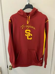 Nike Team USC Trojans Nike Fit Therma Pullover Hoodie Mens Size Medium $18.00