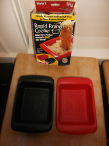Rapid Ramen Cooker Microwave in Half the Time BPA Free and Dishwasher Safe $11.25