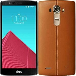 LG G4 H811 32GB Android Genuine Leather Brown T Mobile GSM Unlocked