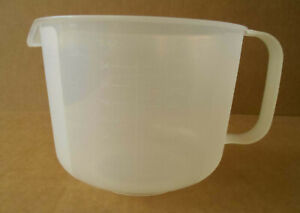 Tupperware Mix N Store 8 Cup Measuring Bowl with NO Lid #1629 $11.49