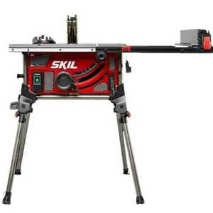 Skil TS6307 00 15 Amp 10#x27;#x27; Table Saw w Integrated Folding Stand New