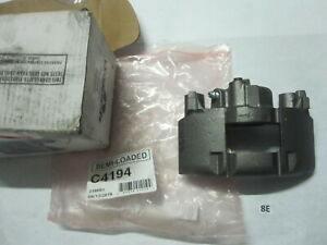 Disc Brake Caliper Semi Loaded Front Right RETECH C4194 Reman $29.75