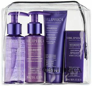 Obliphica Professional Seaberry Travel Kit Medium To Coarse $16.49