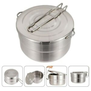 Stainless Steel Outdoor Camping Pot Portable Camping Backpacking Cooking Pot $20.94