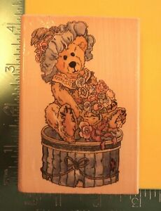 VICTORIAN THE LADY Rubber Stamp by Uptown Boyds Collection $4.47