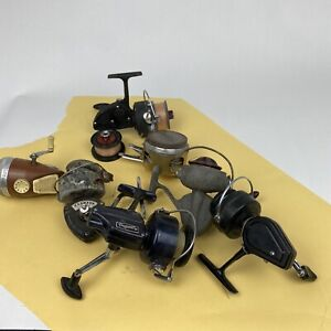 Vintage Lot Of Fishing Spinning Reels. D.A.M Quick