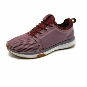 KURU Womens Running Shoes Active Red Low Top Mesh Lace Up 8 M $34.99