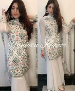 USA Shalwar Sharara Pakistani Suit Plazo Kurti Designer Dresses Indian XXXS L✅