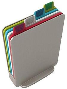 Joseph Joseph Index Cutting Board Set with Storage Case Plastic Color Coded $40.19
