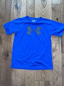 Under Armour Blue Large Short Sleeev Dry Fit Shirt $5.00