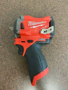 Milwaukee M12 Friction Ring Stubby Impact Wrench 3 8 2554 20 Tool Only $149.99