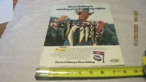 Stren Fishing Line Print Ad Used C